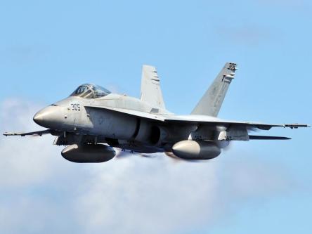 24 F18 Hornets Ready