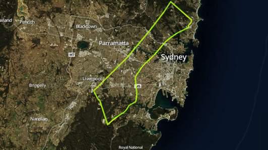 Gaza imposed over Sydney