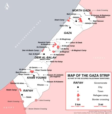 Gaza Strip map 2013 http://smpalestine.com/2013/04/04/resource-map-of-gaza-strip/