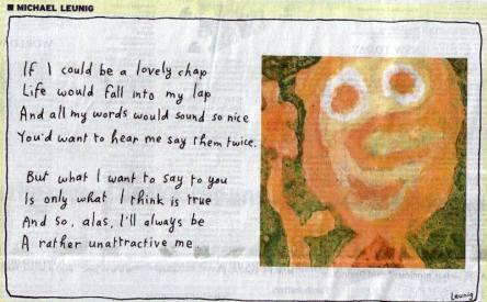 Michael Leunig Australian Cartoonist Poet- Genius