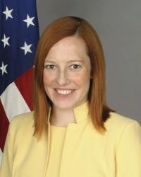 Jen Psaki Official State Department Photo http://www.state.gov/r/pa/ei/biog/209549.htm