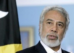 Xanana Gusmao, Prime Minister and Minister of Defense and Security of the Democratic Republic of Timor-Leste
