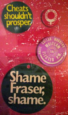 Shame Fraser Shame Photo: https://theconversation.com/we-wore-shame-fraser-t-shirts-but-his-passing-is-a-genuine-shame-39121